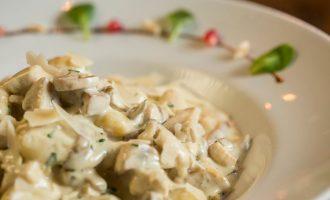 диетический грибной соус из шампиньонов